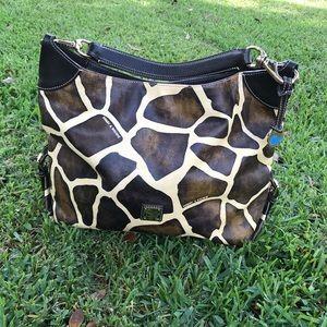 Dooney and Bourke Giraffe Print Bag